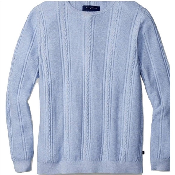 Tommy Bahama Other - Tommy Bahama Marled Sands Cable Crewneck Sweater